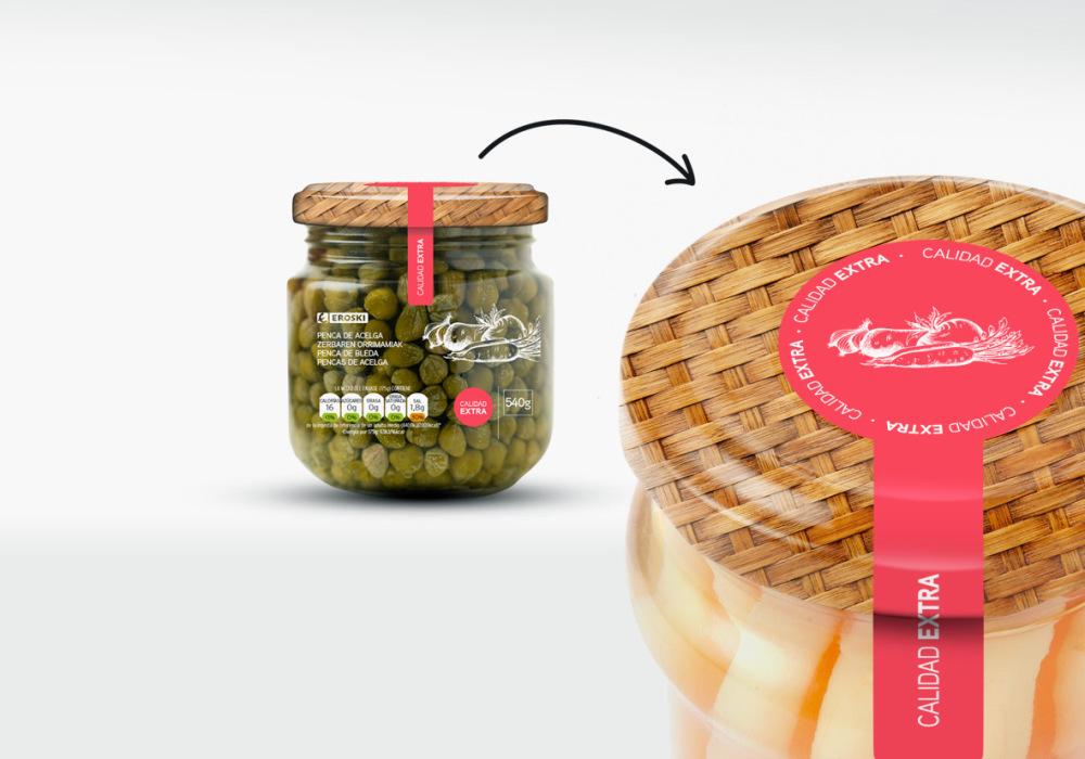 Conservas de verduras Eroski